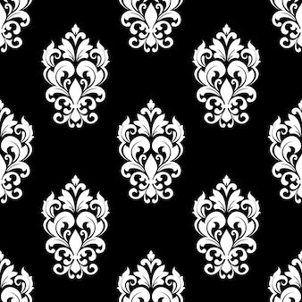 Naadloos patroon met bloemmotieven