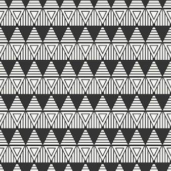 Naadloos patroon met driehoeken