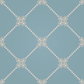 Naadloos patroon met elegant knoopteken