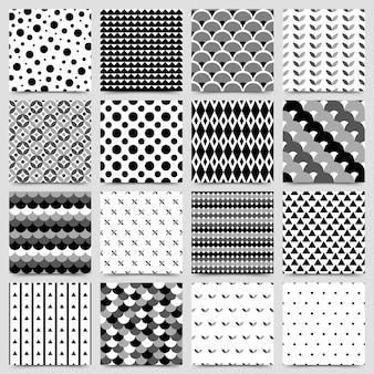 Naadloos patroon met geometrische vormen