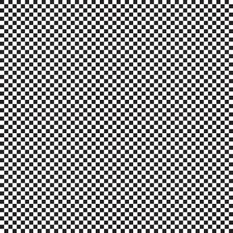 Naadloos patroon met kleine zwart-witte kooi