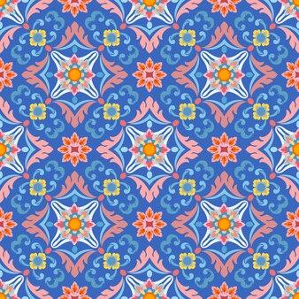 Naadloos patroon met kleur
