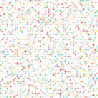 Naadloos patroon met kleurcirkels