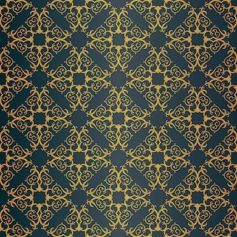 Naadloos patroon met kunstornament voor ontwerp