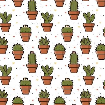 Naadloos patroon met leuke illustratie