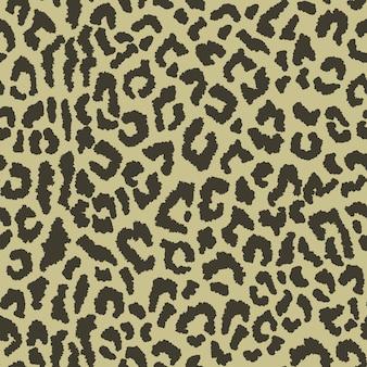 Naadloos patroon met luipaardvlekken