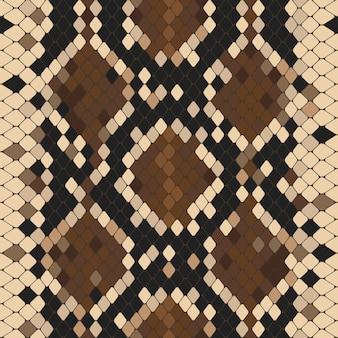 Naadloos patroon met natuurlijke pythonprint