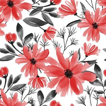 Naadloos patroon met schattige bloem