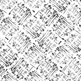 Naadloos patroon met strepen. zwart-witte achtergrond