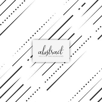 Naadloos patroon met zwarte lijnen