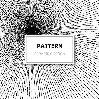 Naadloos patroon. moderne stijlvolle textuur met golvende strepen.