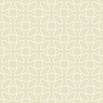 Naadloos patroon of islamitische achtergrond met geometrische stijl