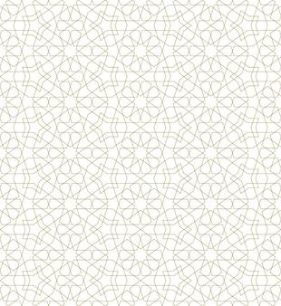 Naadloos patroon op basis van traditionele islamitische kunst.