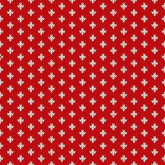 Naadloos patroon op de wol gebreide textuur. eps beschikbaar