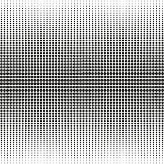 Naadloos patroon van blend cirkels halftone achtergrond