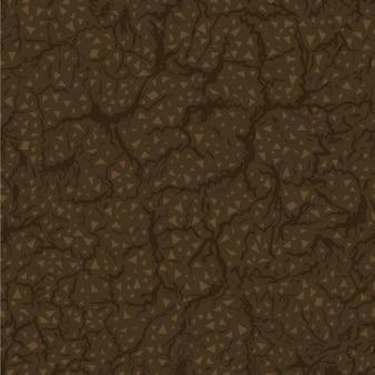 Naadloos patroon van de grond binnen vector illustration