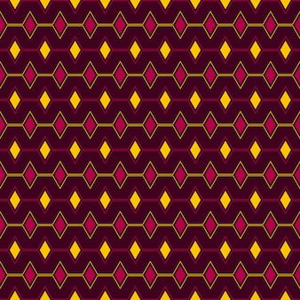 Naadloos patroon van driehoek