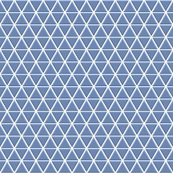 Naadloos patroon van kleine driehoekjes in lichtblauwe kleuren