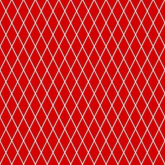 Naadloos patroon van kleine ruiten in rode kleuren