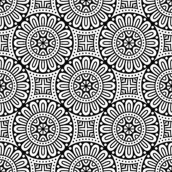 Naadloos patroon. vintage decoratieve elementen