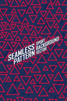 Naadloos patroon voor extreme jersey team, racen, fietsen, leggings, voetbal, gaming en sport livery.