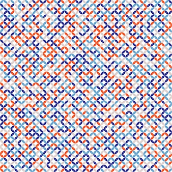 Naadloos retro patroon