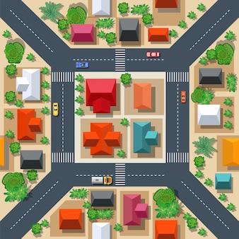 Naadloos stedelijk patroon