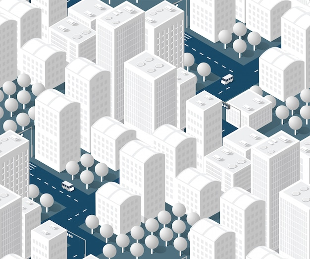 Naadloos stedenbouwkundig planpatroon