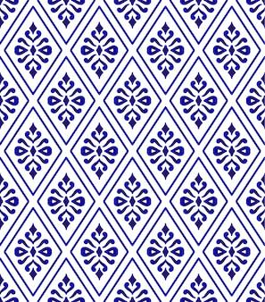 Naadloos thais patroon