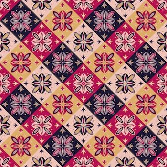 Naadloos vectorpatroon met oosters ornament.