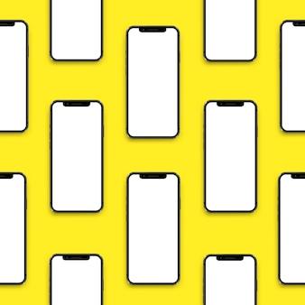 Naadloze aardewerk met smartphones