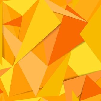 Naadloze abstracte gele achtergrond