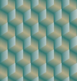 Naadloze abstracte geometrische achtergrond