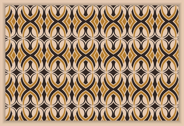 Naadloze abstracte vector achtergrond bruin en zwart textuur grafisch modern patroon