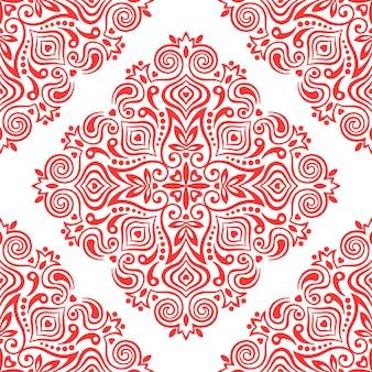 Naadloze achtergrond met abstract etnisch patroon.