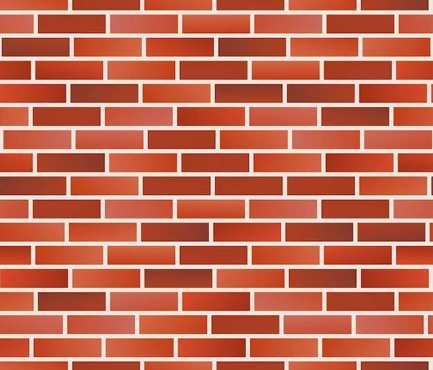 Naadloze bakstenen muur patroon