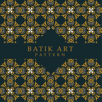 Naadloze batik patroon abstracte achtergrond