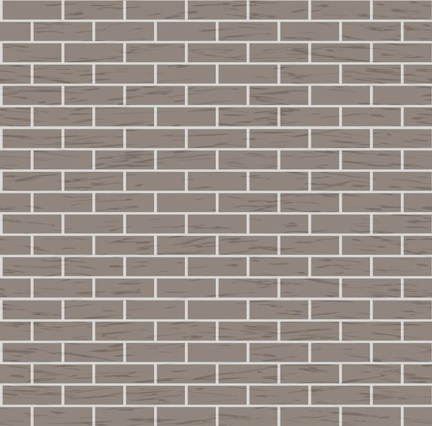 Naadloze bruine bakstenen muur