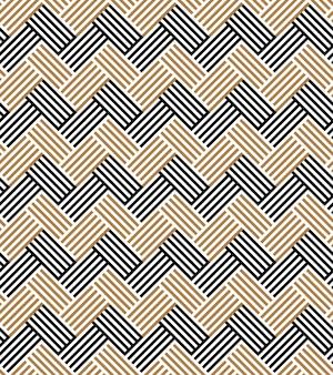 Naadloze egyptische patroon geometrische gestreepte ornament achtergrond.