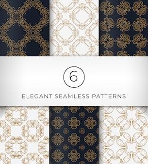 Naadloze elegante patronen