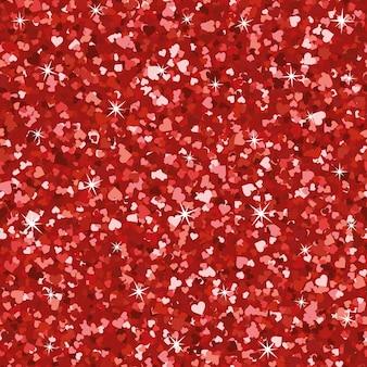 Naadloze fel rood glitter textuur