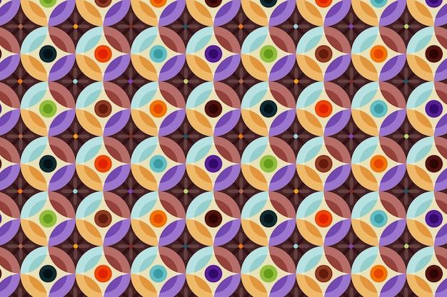 Naadloze geometrische hip patroon textuur