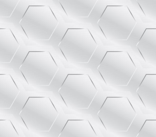 Naadloze geometrische patroon van de metalen industrie