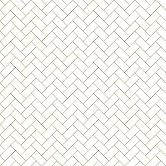 Naadloze geometrische sieraad in bruine kleur. fijne lijnen.