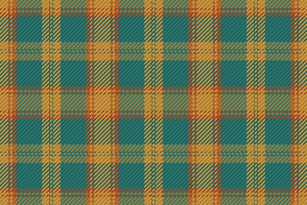 Naadloze geruite patroon vector achtergrond voor flanellen shirt, deken, gooien of ander modern textielontwerp.