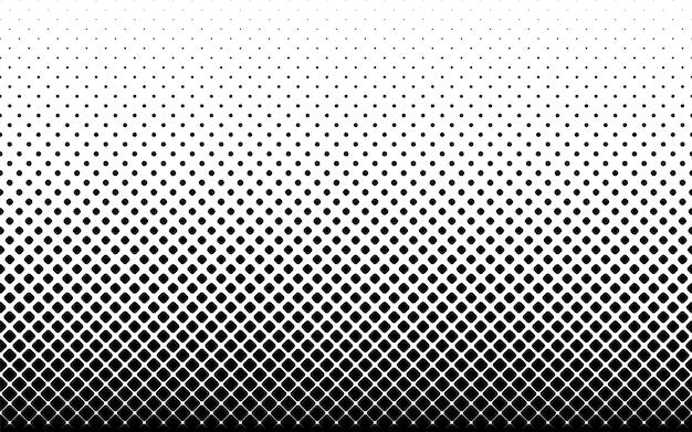Naadloze halftone vectorachtergrond. .afgeronde hoeken . 46 figuren in hoogte.