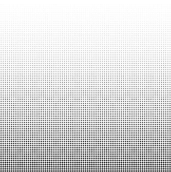 Naadloze halftone vectorachtergrond gevuld met zwarte vierkanten 82 cijfers in hoogte
