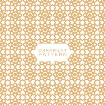 Naadloze islamitische geometrische patronen texturen