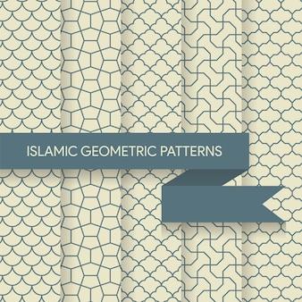 Naadloze islamitische geometrische patronen
