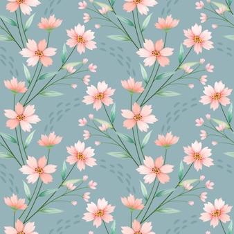 Naadloze kleurrijke bloemen vector voor mode prints, verpakking, textiel, papier, behang.